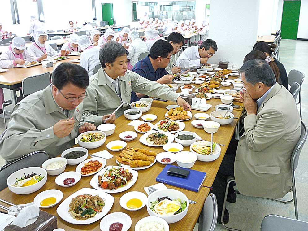 海外での試食会